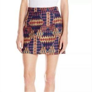 Sam Edelman   Embroidered Boho Tribal Print Skirt